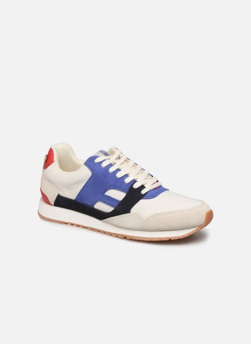 Trainers Faguo Runnings Ivy Synthetic Suede White detailed view/ Pair view