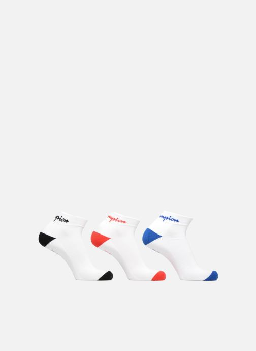 Chaussettes et collants Champion ANKLE SOCKS CHAMPION PERFORMANCE x3 Blanc vue détail/paire