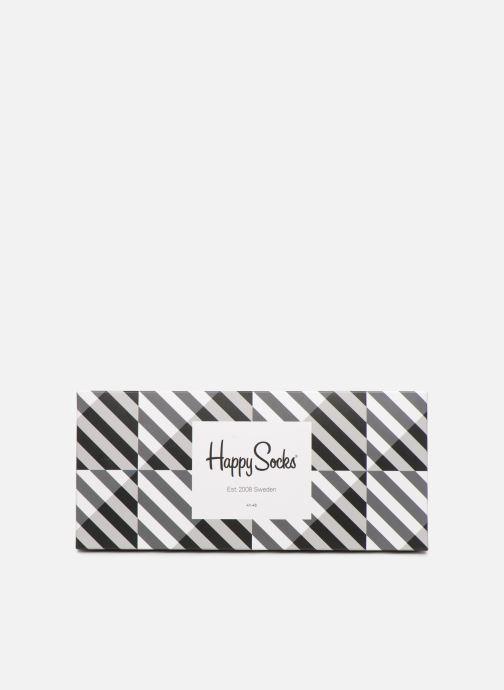 Socken & Strumpfhosen Happy Socks Black & White Gift Box schwarz schuhe getragen