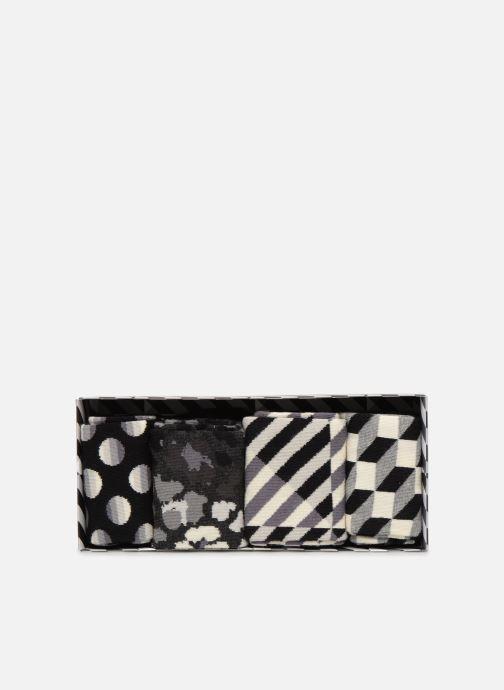 Socken & Strumpfhosen Happy Socks Black & White Gift Box schwarz ansicht von vorne