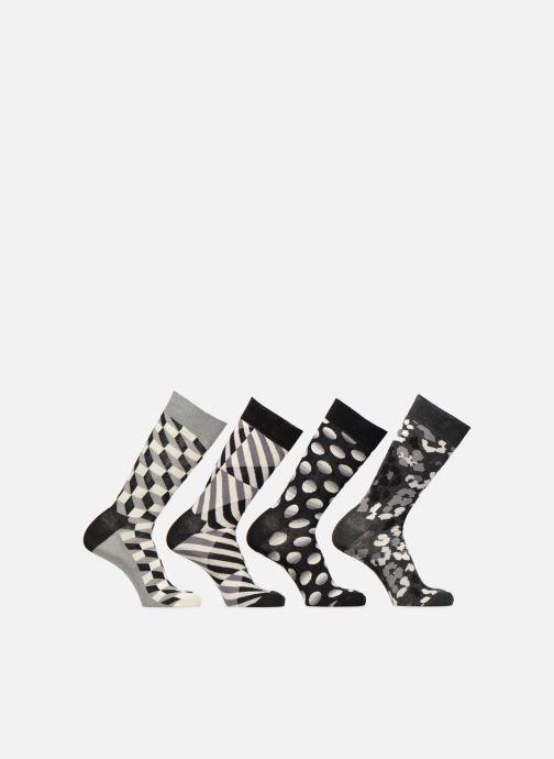 Socken & Strumpfhosen Happy Socks Black & White Gift Box schwarz detaillierte ansicht/modell