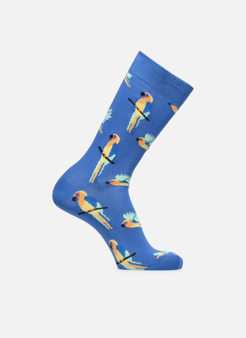 Strumpor och strumpbyxor Happy Socks Chaussettes Parrot Blå detaljerad bild på paret