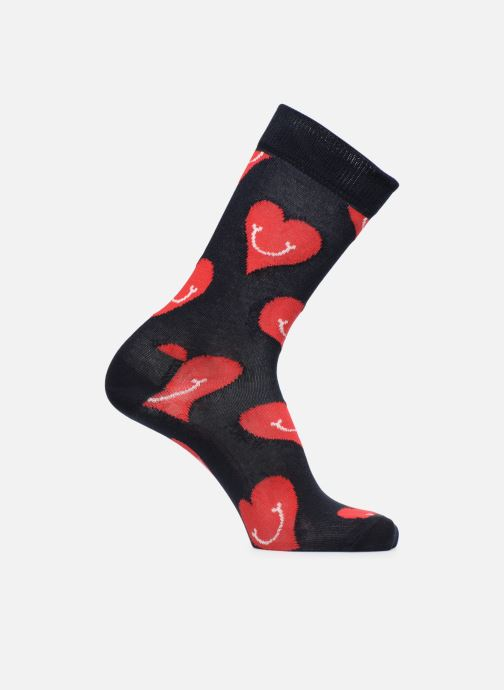 Socks & tights Happy Socks Chaussettes Smiley Black detailed view/ Pair view