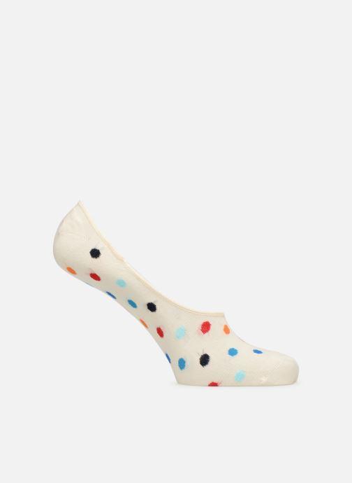 Chaussettes et collants Happy Socks Dot Liner Sock Blanc vue détail/paire