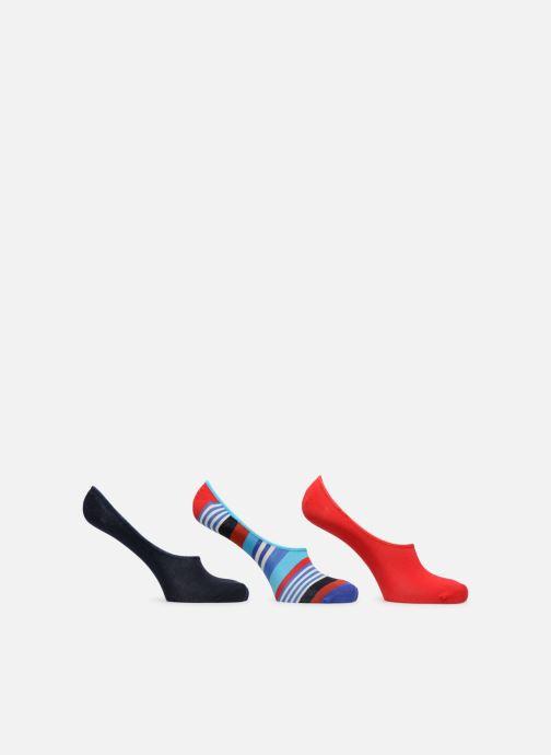 Strumpor och strumpbyxor Happy Socks Liner Sock 3 pack Röd detaljerad bild på paret