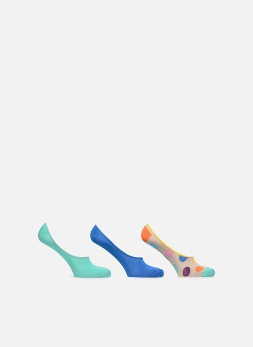 Strumpor och strumpbyxor Happy Socks Liner Sock 3 pack Blå detaljerad bild på paret