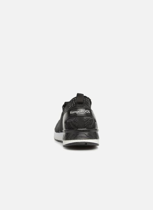 Sneaker Kangaroos W-590 schwarz ansicht von rechts