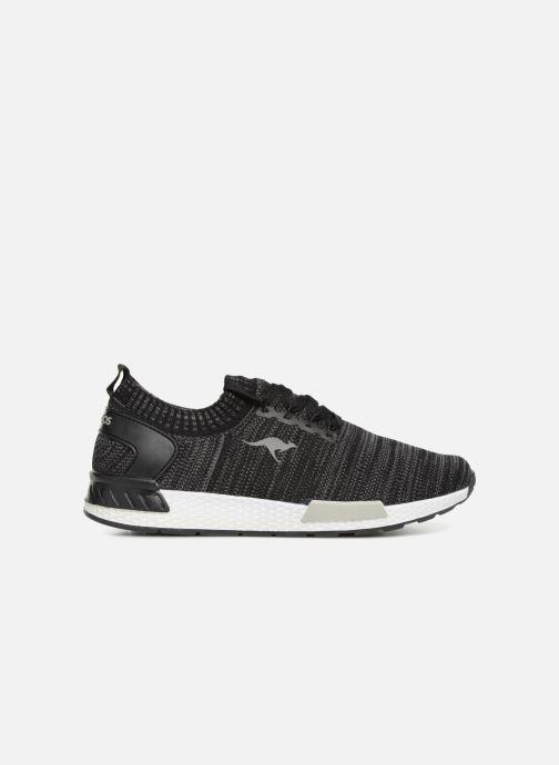 Sneaker Kangaroos W-590 schwarz ansicht von hinten