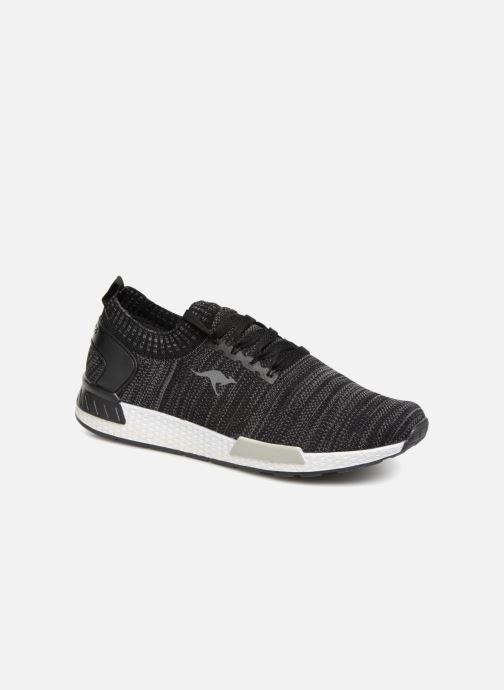 Sneaker Kangaroos W-590 schwarz detaillierte ansicht/modell