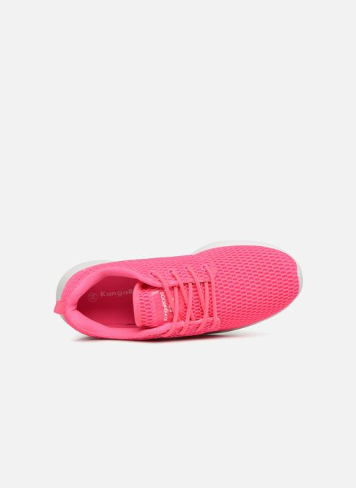 Trainers Kangaroos Kaishu Pink view from the left