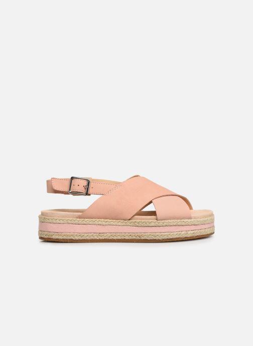 Sandales et nu-pieds Clarks Botanic Fay Rose vue derrière