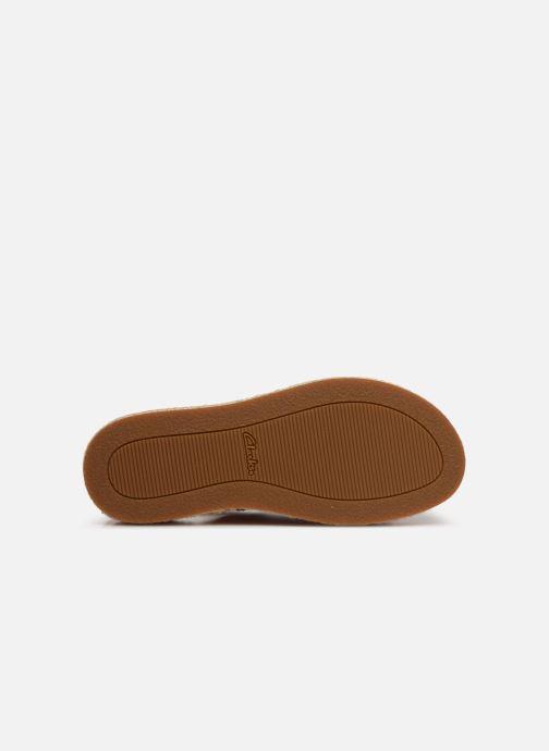 Sandales et nu-pieds Clarks Botanic Fay Rouge vue haut