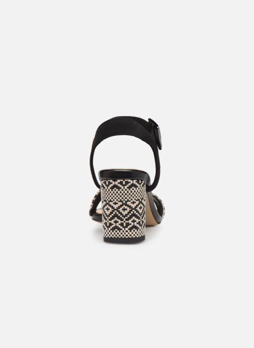 Sandals Clarks Amali Weave Black view from the right