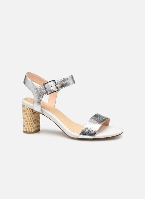 Sandales et nu-pieds Clarks Amali Weave Argent vue derrière
