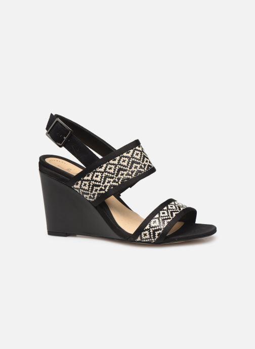 Sandales et nu-pieds Clarks Image Weave Noir vue derrière