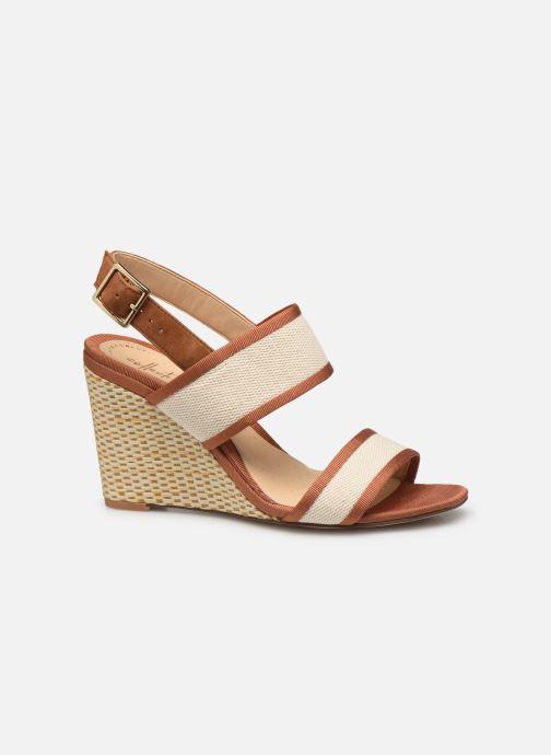 Sandales et nu-pieds Clarks Image Weave Marron vue derrière