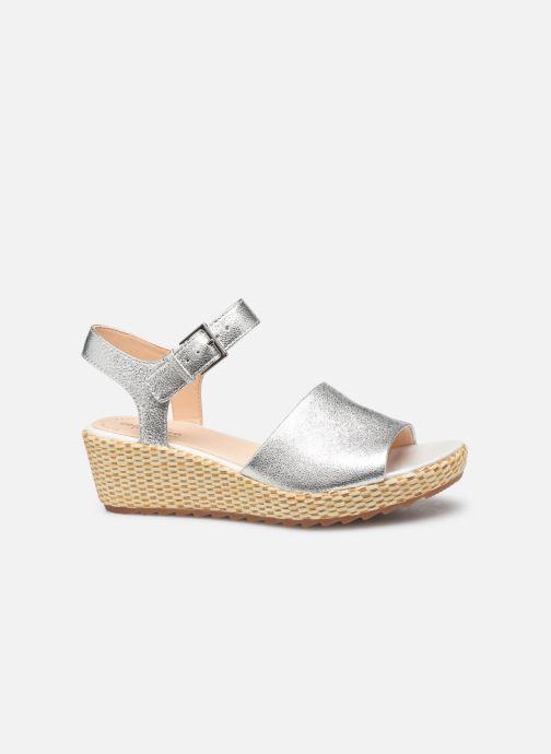 Sandales et nu-pieds Clarks Kamara Sun Argent vue derrière