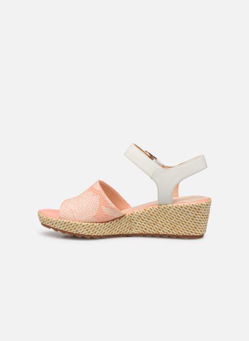 Sandales et nu-pieds Clarks Kamara Sun Rose vue face