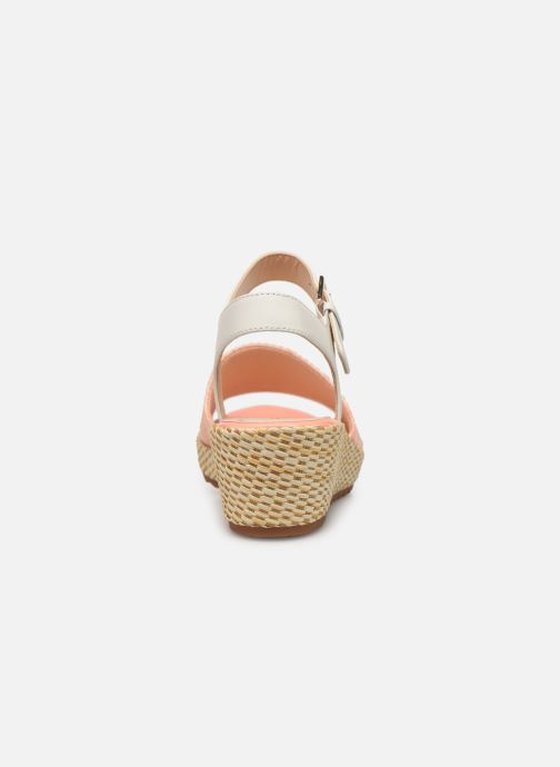 Sandals Clarks Kamara Sun Pink view from the right