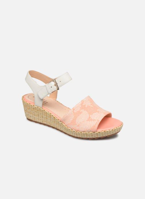 Sandaler Clarks Kamara Sun Pink detaljeret billede af skoene