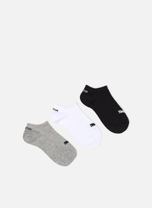 Chaussettes et collants Puma Socks INVISIBLE SNEAKERS KIDS LOT DE 3 Gris vue détail/paire