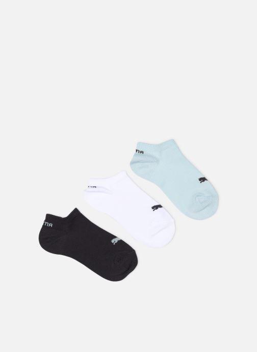 Strumpor och strumpbyxor Puma Socks INVISIBLE SNEAKERS KIDS LOT DE 3 Blå detaljerad bild på paret