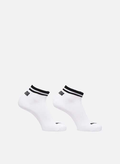 Socks & tights Puma Socks HERITAGE QUARTER LOT DE 2 White detailed view/ Pair view