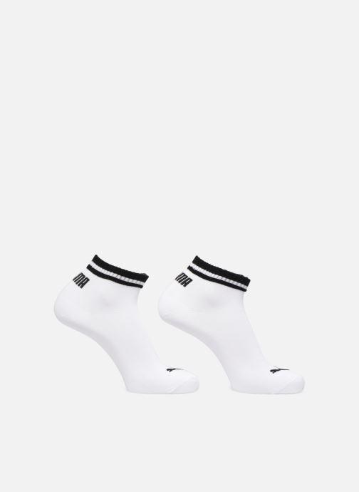 Chaussettes et collants Puma Socks HERITAGE QUARTER LOT DE 2 Blanc vue détail/paire