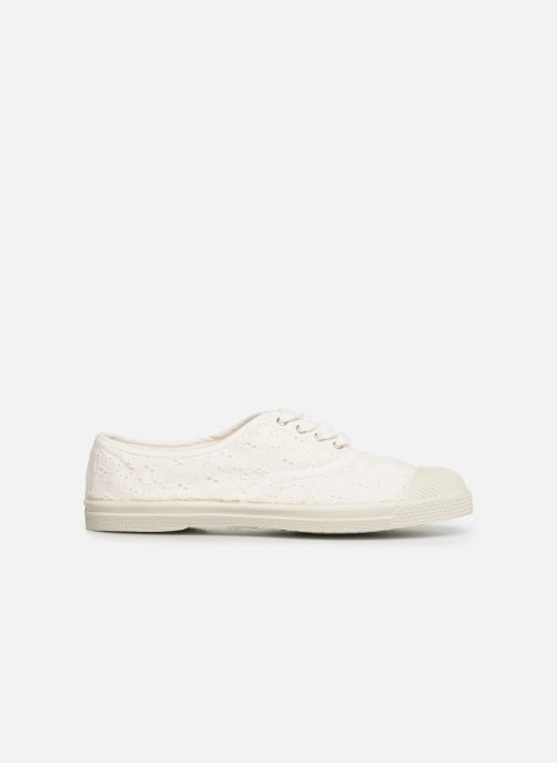 Trainers Bensimon Tennis Lacet Broderie Anglaise White back view