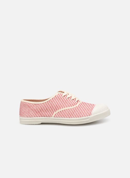 Trainers Bensimon Tennis Lacet Raye Red back view