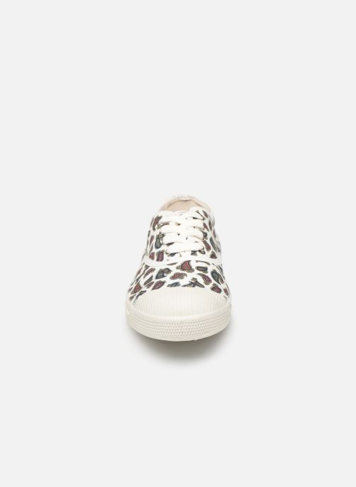 Sneakers Bensimon Tennis Lacet Mini Bandana Wit model