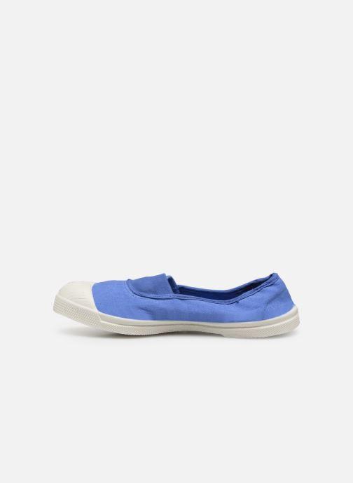 Sneaker Bensimon Tennis Elastique H blau ansicht von vorne