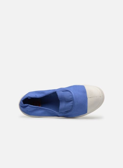 Trainers Bensimon Tennis Elastique H Blue view from the left