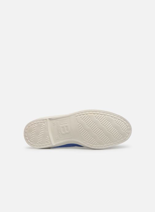 Trainers Bensimon Tennis Elastique H Blue view from above