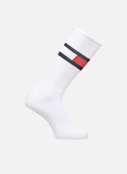 Chaussettes et collants Tommy Hilfiger TH Flag Sock Blanc vue détail/paire