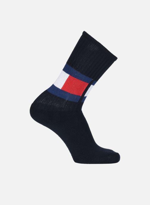 Chaussettes et collants Tommy Hilfiger TH Flag Sock Bleu vue détail/paire