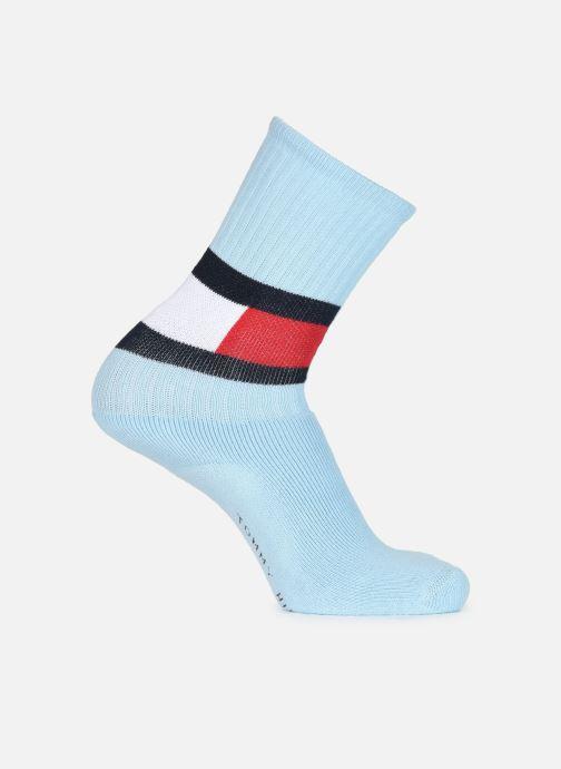 Sokken en panty's Tommy Hilfiger TH Flag Sock Blauw detail