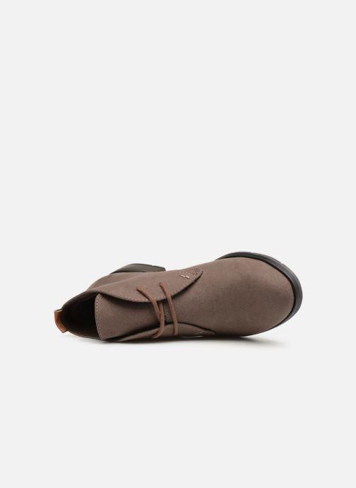 Boots en enkellaarsjes Marco Tozzi 2-2-25101-31  301 Zwart links