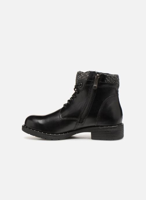 Boots en enkellaarsjes Marco Tozzi 2-2-25203-21  096 Zwart voorkant