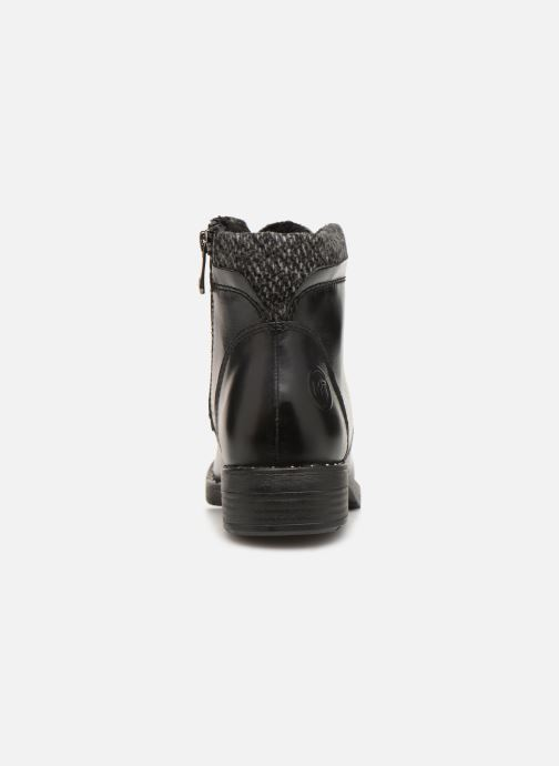 Ankle boots Marco Tozzi 2-2-25203-21  096 Black view from the right