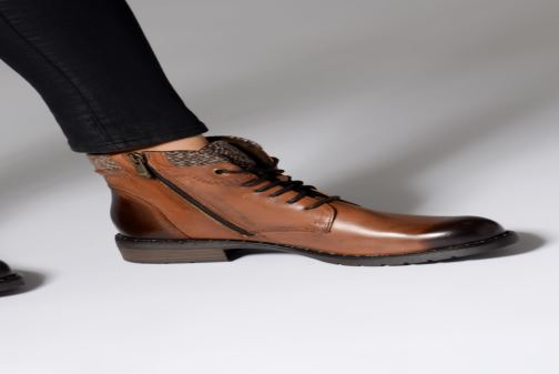 Ankle boots Marco Tozzi 2-2-25203-21  372 Brown view from underneath / model view