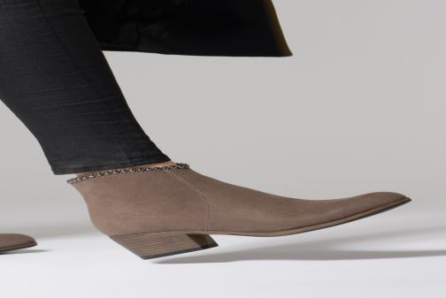 Ankle boots Marco Tozzi 2-2-25308-21  324 Brown view from underneath / model view