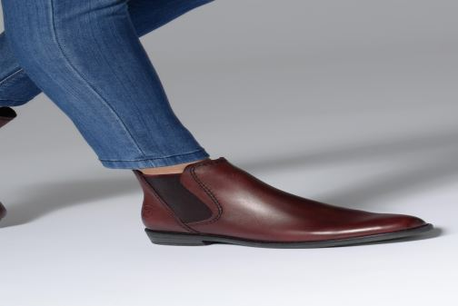 Ankle boots Marco Tozzi 2-2-25366-31  507 Burgundy view from underneath / model view