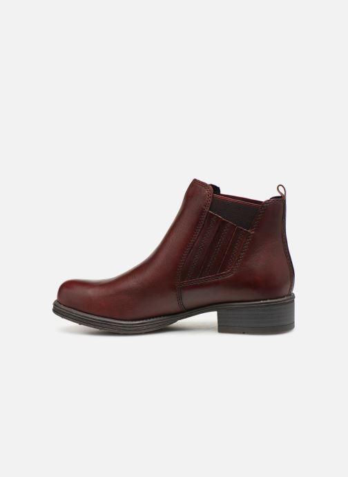 Boots en enkellaarsjes Marco Tozzi 2-2-25418-31  507 Bordeaux voorkant