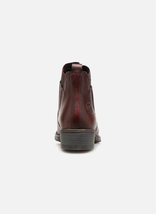 Boots en enkellaarsjes Marco Tozzi 2-2-25418-31  507 Bordeaux rechts