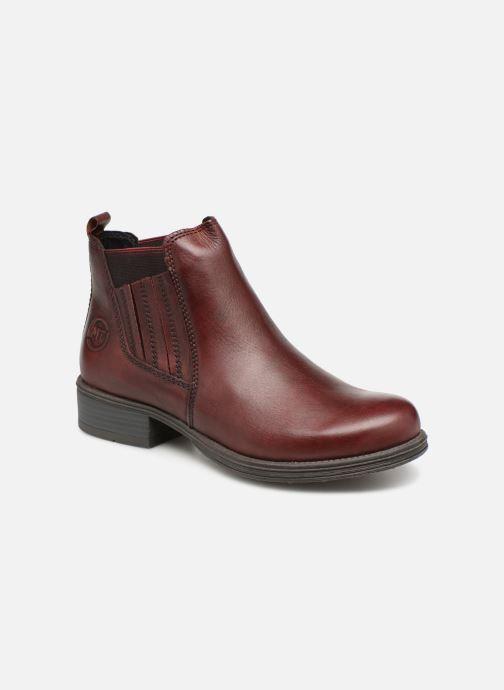 Boots en enkellaarsjes Marco Tozzi 2-2-25418-31  507 Bordeaux detail