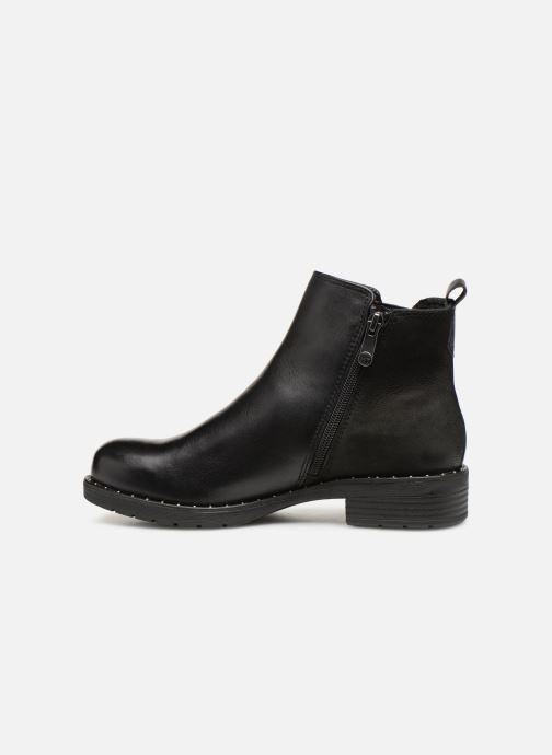 Boots en enkellaarsjes Marco Tozzi 2-2-25437-21  096 Zwart voorkant