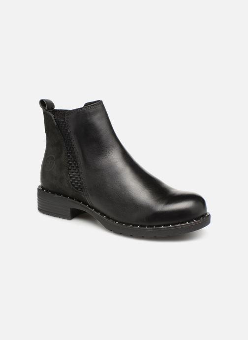Boots en enkellaarsjes Marco Tozzi 2-2-25437-21  096 Zwart detail