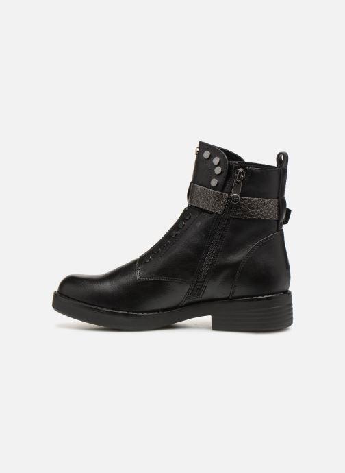 Boots en enkellaarsjes Marco Tozzi 2-2-25447-21  096 Zwart voorkant