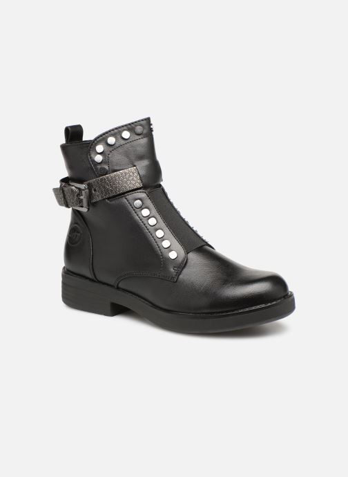 Boots en enkellaarsjes Marco Tozzi 2-2-25447-21  096 Zwart detail